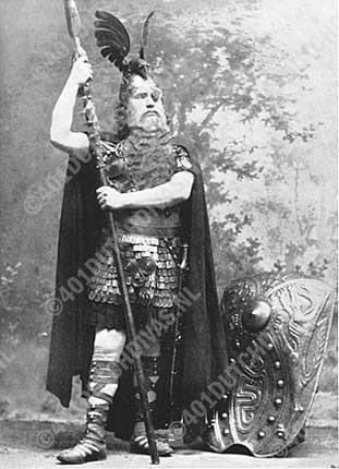 Anton van Rooy als Wotan, Bayreuth