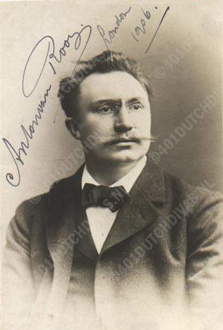 Anton van Rooy, bas-bariton
