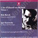 Eduard van Beinum, vroege opnamen