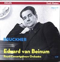 Eduard van Beinum, Bruckner Symphonies