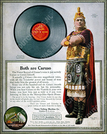 Enrico-Caruso-as-Radames-in-Victrola