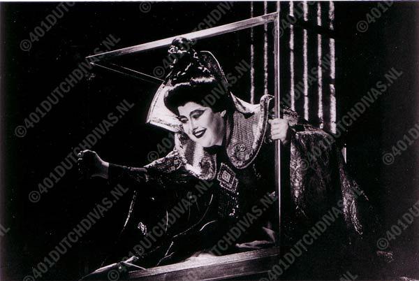 Wiebke Göetjes als Turandot in Puccini's gelijknamige opera