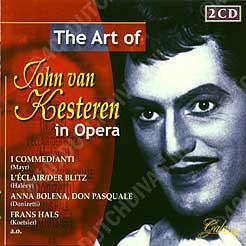CD-hoes, John van Kesteren in opera